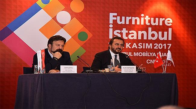 İstanbul Mobilya Fuarı, 7 Kasım'da CNR EXPO'da kapılarını açıyor