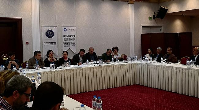 Toplumsal Barış Süreçlerinde STÖ'lerin Rolü Bölgesel Çalıştayı...