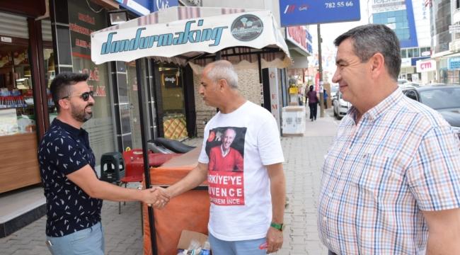 CHP'li Çam'dan 'İnce' davet