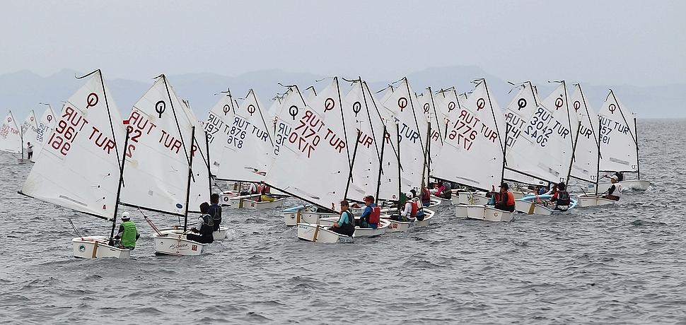 TYF Türkiye Şampiyonası'nda Optimist ve Laser sınıflarında kazananlar belli oldu