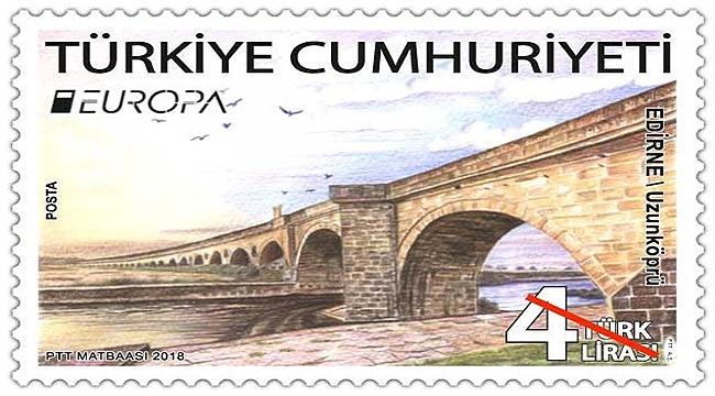 'Köprüler' temalı pulumuz 'En iyi Avrupa Pulu' yarışmasında