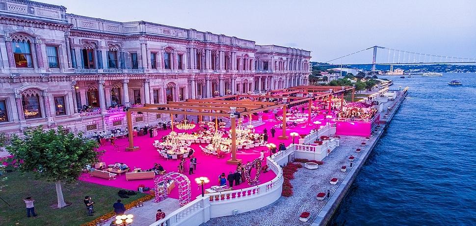 Yılın en yüksek bütçeli Hint düğünü İstanbul'da gerçekleşti