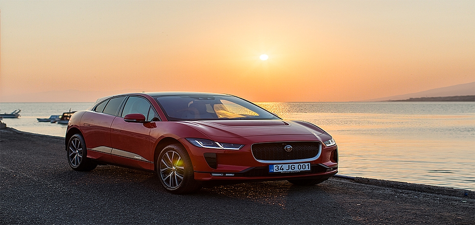 Tamamen Elektrikli Yeni Jaguar I-PACE Çeşme'de...