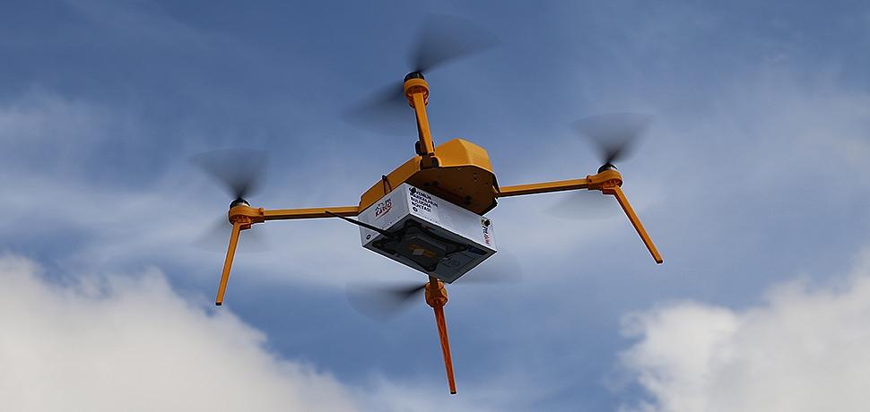 PTT'den Dev Atılım: Drone'la Kargo Teslimatı