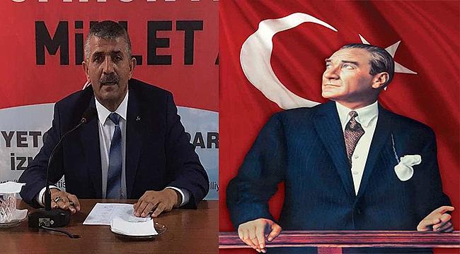 Yeni Başkan'dan Atatürk vurgusu