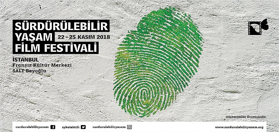 Sürdürülebilir Yaşam Film Festivali 22-25 Kasım'da İstanbul'da...