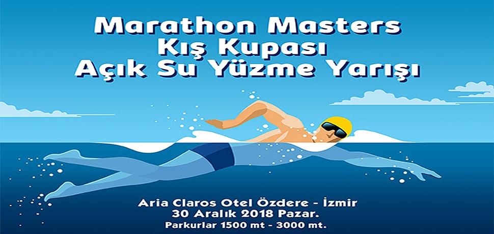 İzmir'de, Kış Ortasında Yüzme Şampiyonası