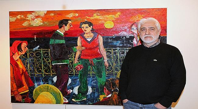 Ressam Resul Aytemürün Resim Sergisi Selçuk Yaşar Sanat Galerisi