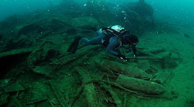 Çanakkale savaşları sırasında batırılan gemi dalış turizmine açılıyor