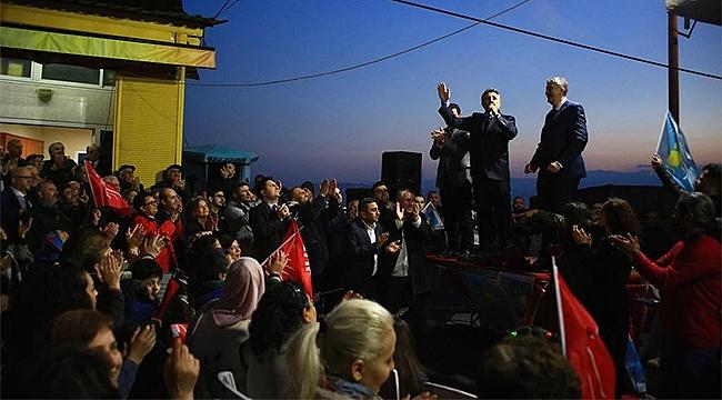 CHP'li Sandal'dan Alpaslan Mahallesi'nde Muhteşem Açılış