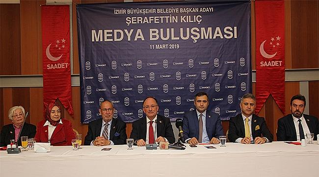Şerafettin Kılıç, İzmir için projelerini açıkladı