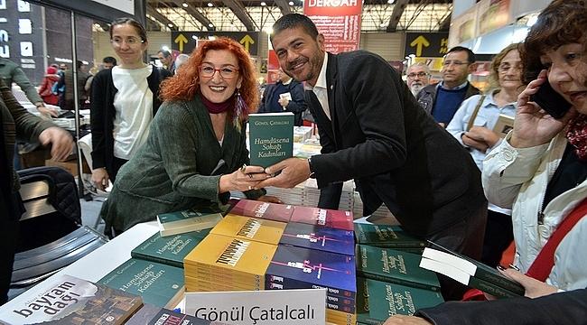 Başkan Gürbüz, İzmir Kitap Fuarı'nın açılış törenine katıldı