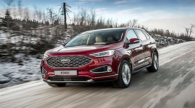 Ford SUV ailesinin en büyük üyesi Ford Edge yenilendi