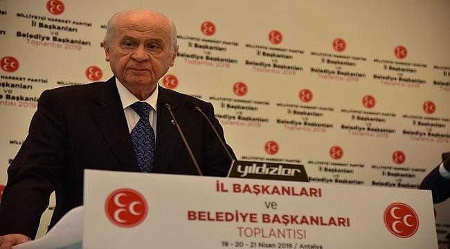 MHP İl Başkanları ve Belediye Başkanları Antalya'da Buluştu