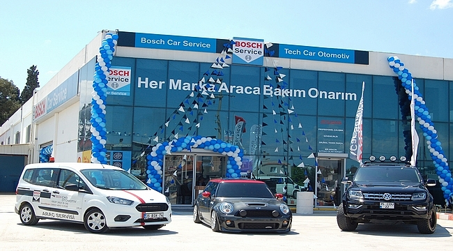 TechCar Otomotiv, yeni araç bakım onarım servisini Urla'da hizmete açtı