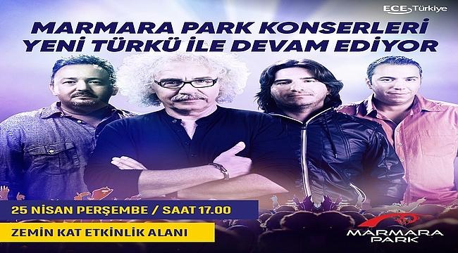 Yeni Türkü Sevilen Şarkılarını  Marmara Park Ziyaretçileri İçin Söyleyecek