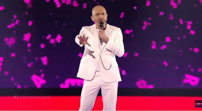 Serhat Eurovision finalinde 20. oldu