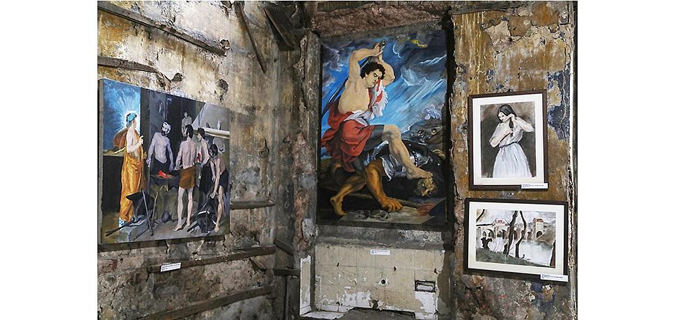 """""""Enaniyet Zinciri"""" başlıklı resim sergisi Beşiktaş Rum İlkokulu'nda açıldı"""