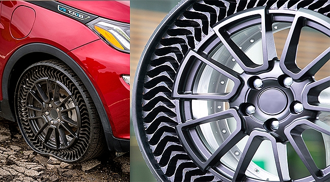 Michelin'den havasız lastik teknolojisi: Uptis