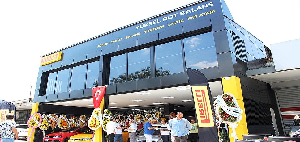 Pirelli'nin 'aynı anda en çok araca hizmet verebilen' yeni şubesi İzmir'de hizmete açıldı…