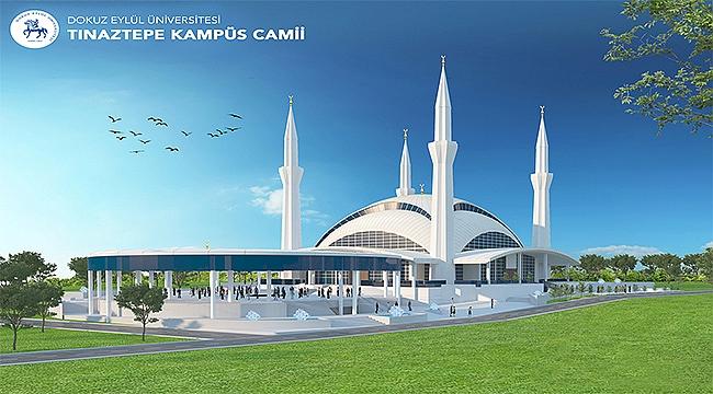 Tınaztepe Kampüs Camii için ilk adım atıldı