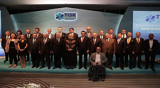 Tisk'in kurumsal sosyal sorumluluk ödülleri sahiplerini buldu