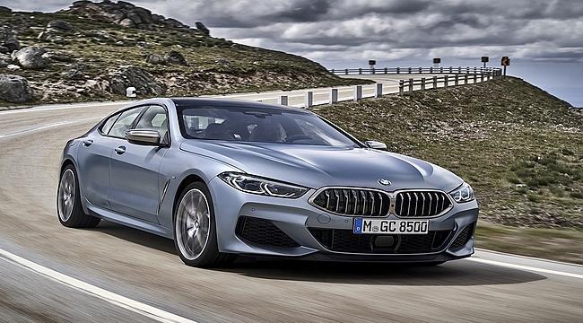 BMW 8 Serisi Gran Coupé 4 Koltukta da Spor Otomobil Keyfi Sunuyor