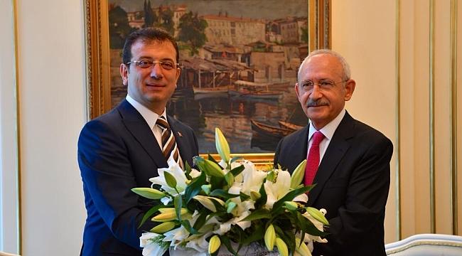 Kemal Kılıçdaroğlu'dan İBB'ye ziyaret