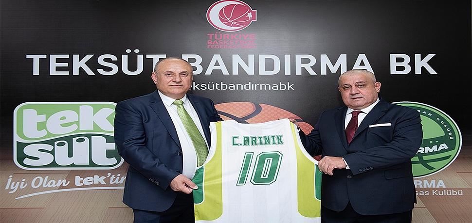 Teksüt, Bandırma Basketbol İhtisas Kulübü'nün resmi isim sponsoru oldu