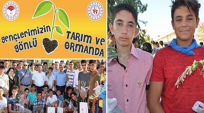 Gençlere tarımda farkındalık eğitimleri