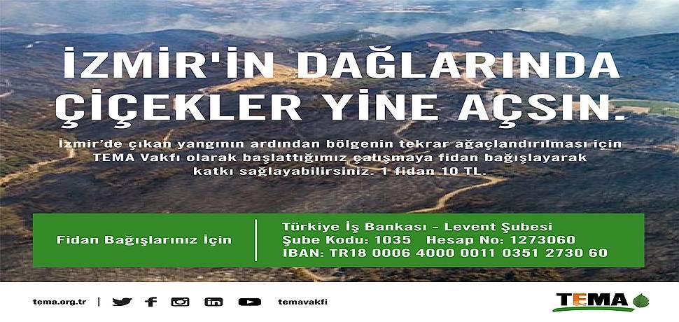 IBS Sigorta ve Reasürans Brokerlik'ten İzmir'in Ağaçlandırılması Kampanyasına Destek