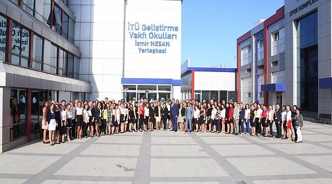 İTÜ GVO İzmir'de ilk ders zili çaldı