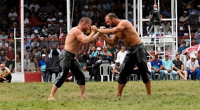 Kırkpınar'dan Sonra Elmalı'da da şampiyon Ali Gürbüz!