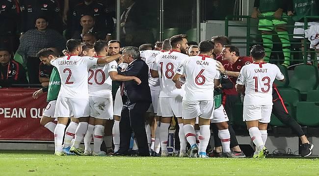 Milli Takım'dan Moldova'da gol şov