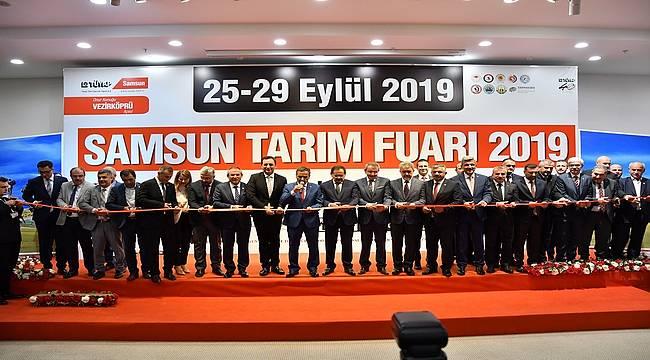 Samsun Tarım Fuarı 5. kez kapılarını açtı