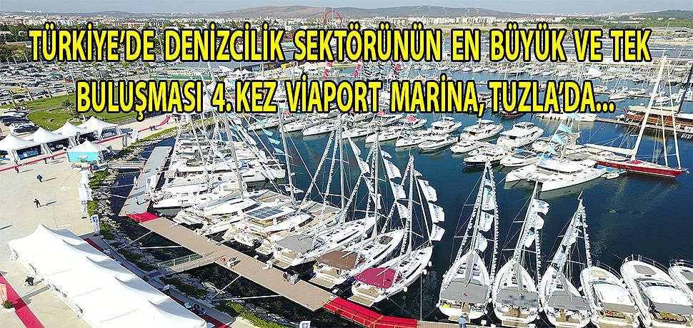 'Uluslararası Boat Show Tuzla Fuarı' 4.kez kapılarını açmaya hazırlanıyor