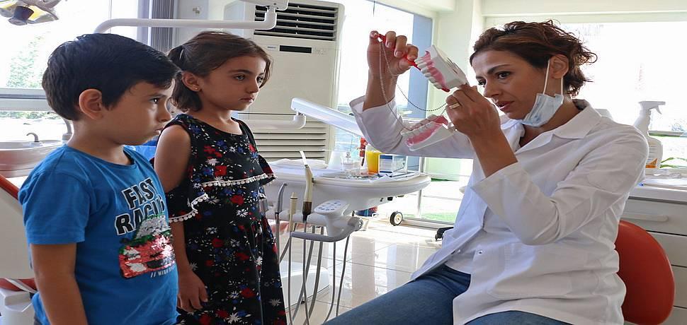 Antalya'da 13 bin çocuğa diş tedavisi