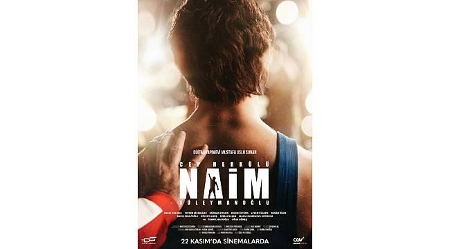 """""""Cep Herkülü: Naim Süleymanoğlu"""" 22 Kasım'da Sinemalarda"""