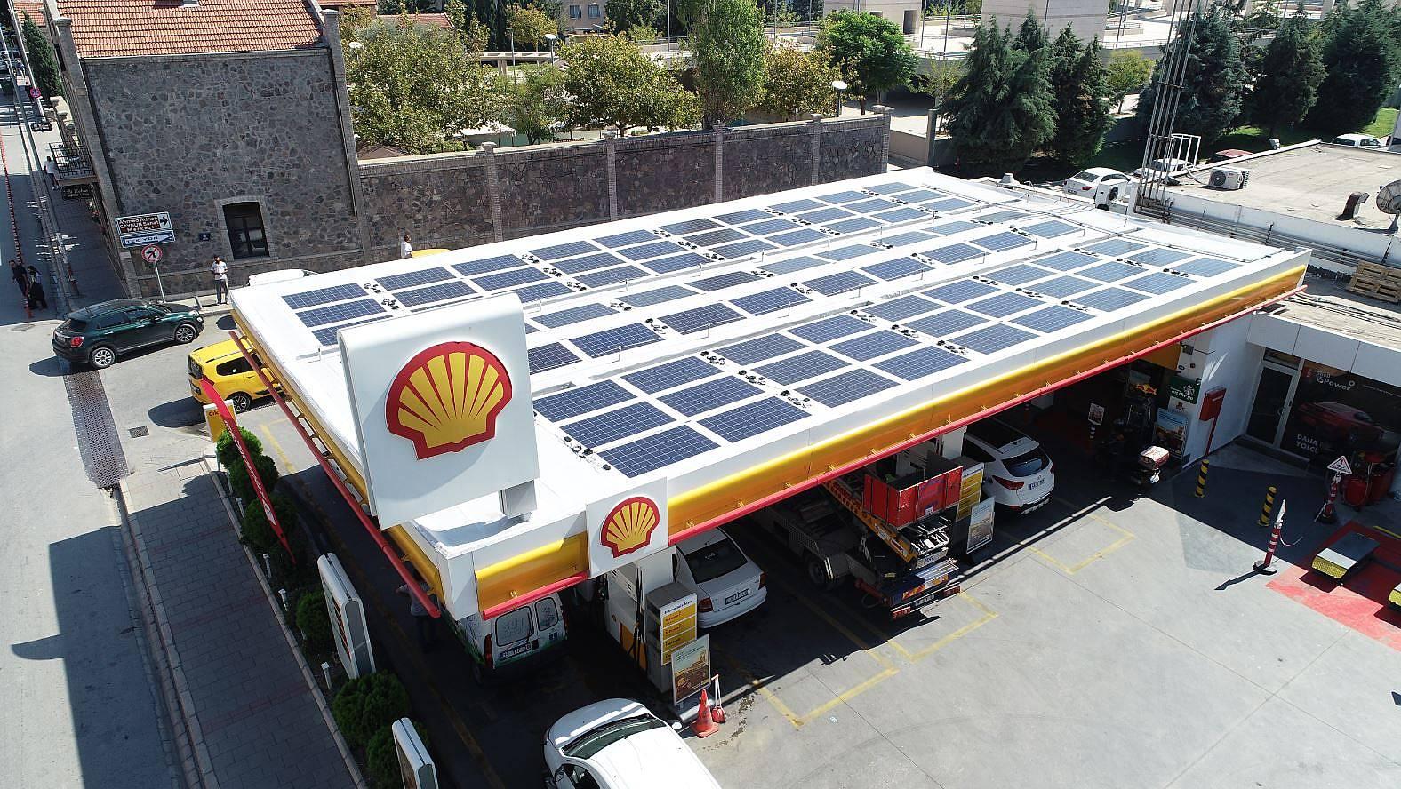 Shell & Turcas enerjisini güneşten alan istasyon sayısını 3'e çıkardı