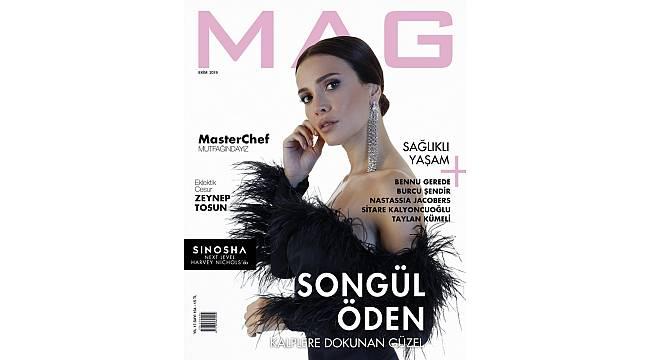 Songül Öden, MAG Ekim sayısı için objektif karşısına geçti