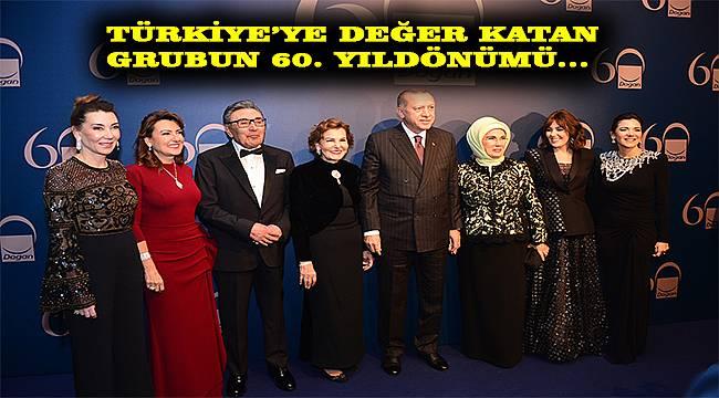 Doğan Grubu 60. Yılını kutladı: Türkiye'ye değer katmak için varız!