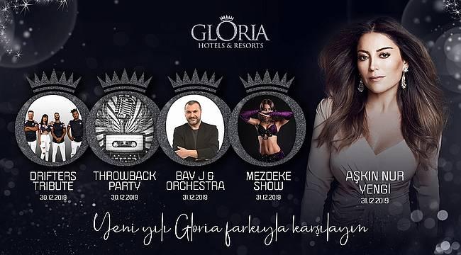 Gloria Hotels & Resorts Yeni Yılı Aşkın Nur Yengi ile Karşılıyor