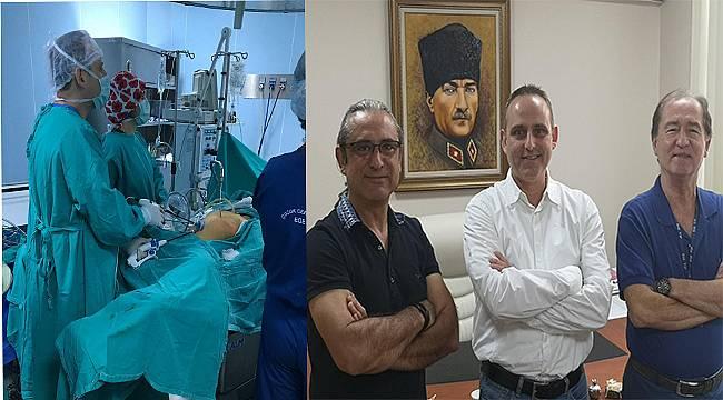 Ege Üniversiteli cerrahlardan dünyaya bir ilk daha