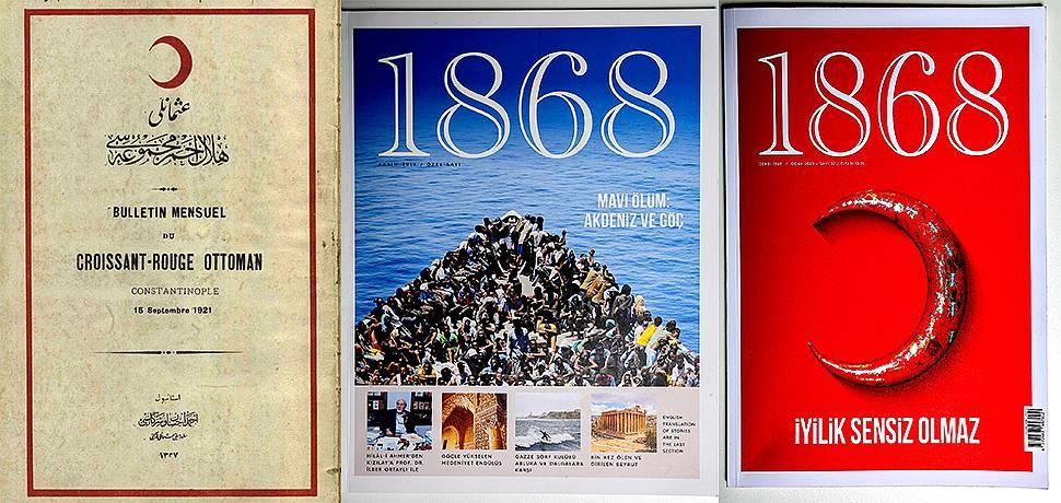 Türk Kızılay'ın dergisinin yeni adı: 1868