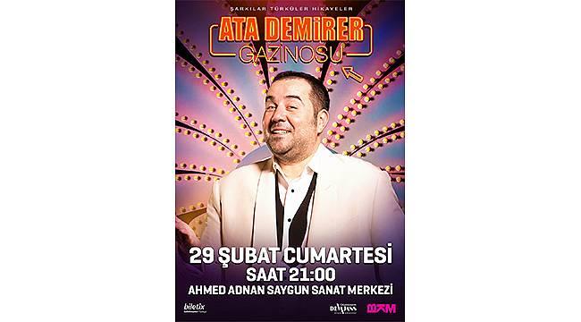 Ata Demirer Gazinosu İzmir'e geliyor