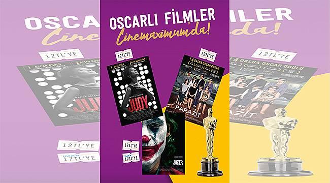 Kaçıranlar ve Yeniden İzlemek İsteyenler İçin Oscar Ödüllü Filmler Cinemaximum'larda