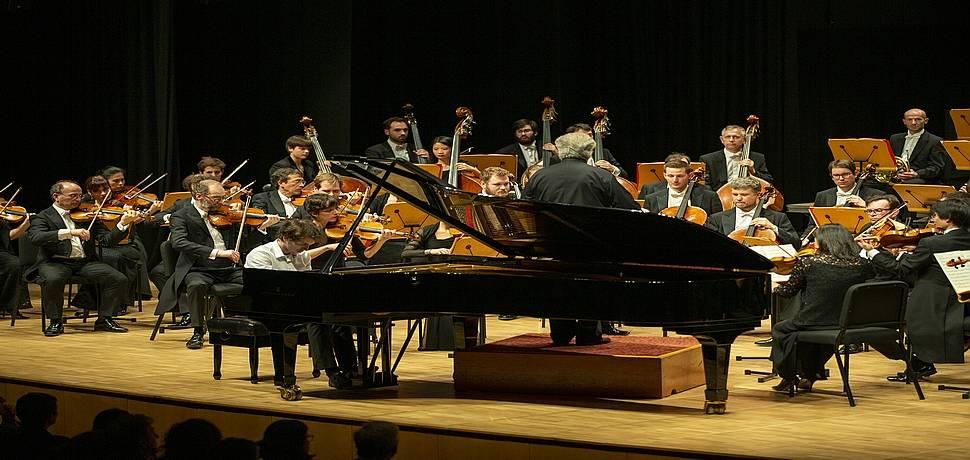 Strazburg Filarmoni Orkestrası CRR'de Müzikseverleri Büyüledi!