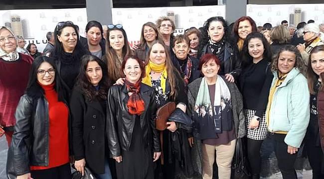 """CHP Karabağlar Kadın Kolları'nda """"Tör"""" dönemi"""