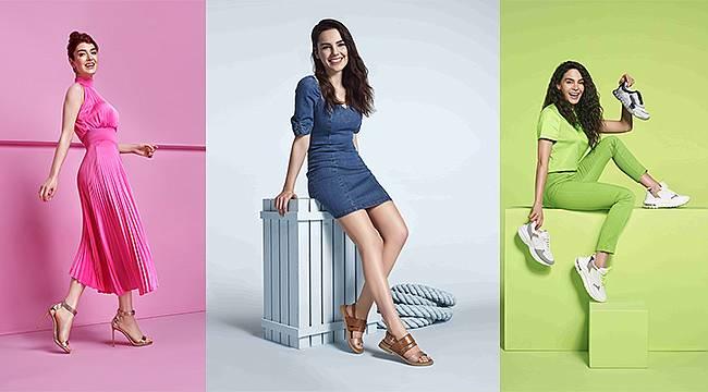 FLO'nun yeni marka yüzleri: Ebru Şahin, Aslıhan Güner ve Yağmur Tanrısevsin