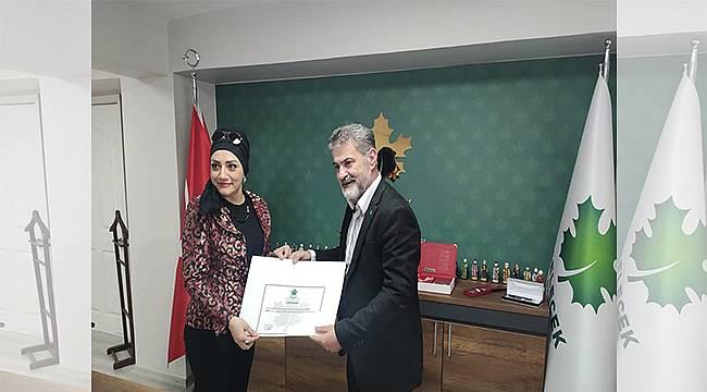 Gelecek Partisi İzmir İl Kadın Kolları Selda Eren'e emanet